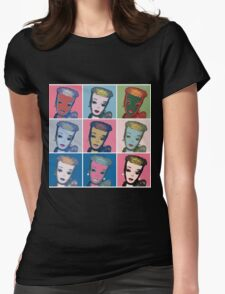 Warhol Barbie Womens Fitted T-Shirt