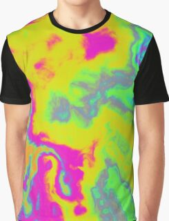 Fuzzy Yellow Tie Dye Limited Edition Graphic T-Shirt