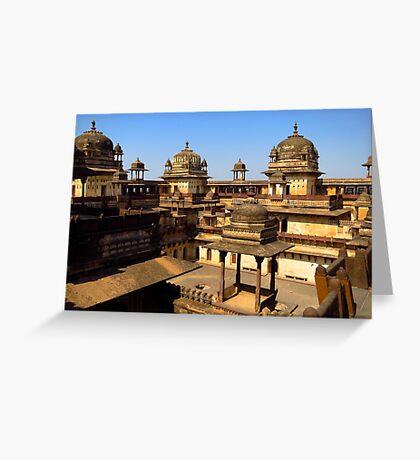 Orcha, India Greeting Card
