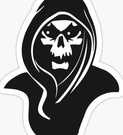 Death hood Sticker