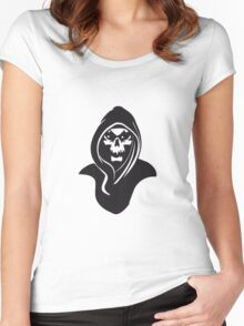 Death hood Women's Fitted Scoop T-Shirt