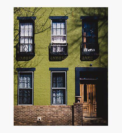Green Facade. Photographic Print