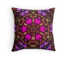 Purple Passion Tapestry Weave Throw Pillow