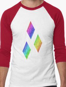MLP - Cutie Mark Rainbow Special - Rarity Men's Baseball ¾ T-Shirt