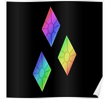 MLP - Cutie Mark Rainbow Special - Rarity Poster