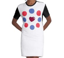 Made Of Love V2 Graphic T-Shirt Dress