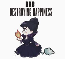 BRB -- destroying happiness One Piece - Short Sleeve