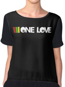 One Love Chiffon Top