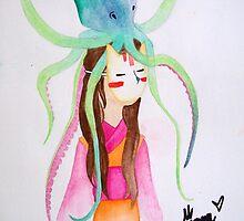 PELUSA - Demonios japoneses by jimenablack