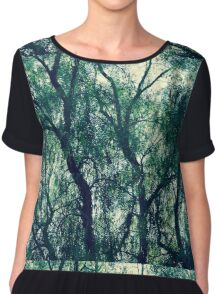 In The Trees Chiffon Top