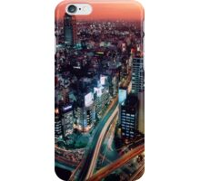 City Skyline Sunset iPhone Case/Skin