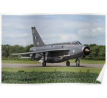 English Electric Lightning F6 Poster