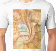 Tomar. Convent. cloister stairs Unisex T-Shirt