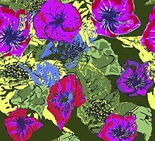 Hawaii flowers by Birgits