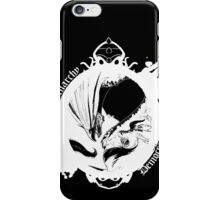 Choose your side - Version White iPhone Case/Skin