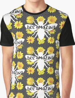 Bee Amazing Graphic T-Shirt