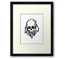 The death Framed Print