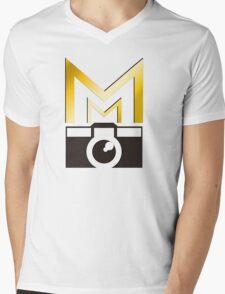 Mark Maker Productions Shirt_01 Mens V-Neck T-Shirt