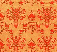 Madame Leota- orange by hbearyo