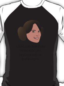 Liz Lemon Princess Leia T-Shirt
