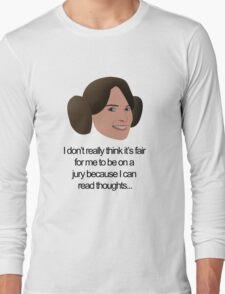 Liz Lemon Princess Leia Long Sleeve T-Shirt