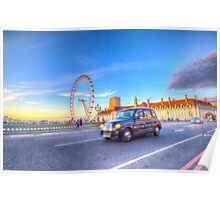 Westminster Bridge And The London Eye Poster