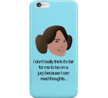 Liz Lemon Princess Leia iPhone Case/Skin