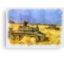 42nd Armoured Division - WWII Canvas Print