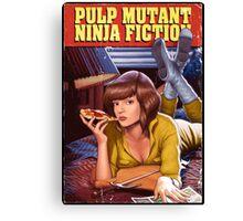 Pulp Mutant Ninja Fiction Canvas Print