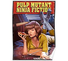 Pulp Mutant Ninja Fiction Poster