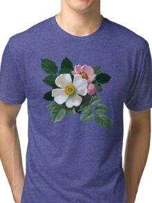 Eglantine - acrylic painting Tri-blend T-Shirt