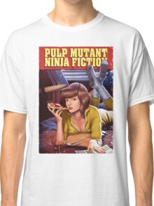 Pulp Mutant Ninja Fiction Classic T-Shirt