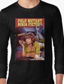 Pulp Mutant Ninja Fiction Long Sleeve T-Shirt