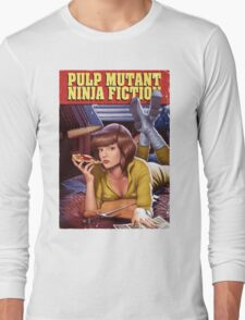 Pulp Mutant Ninja Fiction Long Sleeve T-Shirt