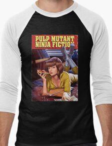 Pulp Mutant Ninja Fiction Men's Baseball ¾ T-Shirt