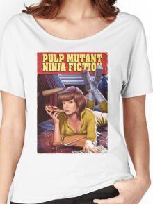 Pulp Mutant Ninja Fiction Women's Relaxed Fit T-Shirt