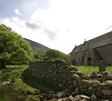 St Bega's Church, Lake District, UK by Trevor Needham