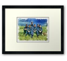 The Dambusters 917 Squadron WWII Framed Print