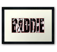 Batman Villians Baddie Framed Print