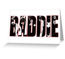Batman Villians Baddie Greeting Card