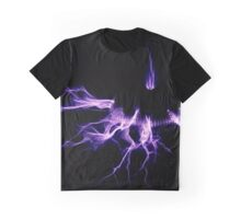 Tesla Coil Lightning Graphic T-Shirt