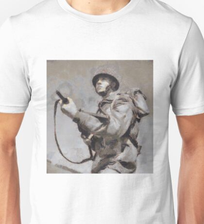 To War - WWII Soldier Unisex T-Shirt
