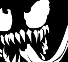 Venom Face Sticker