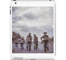 To War - WWII Soldiers iPad Case/Skin