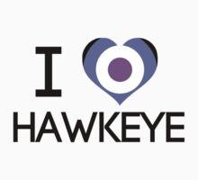 I Heart Hawkeye V1 Kids Clothes