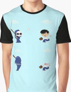baseball death Graphic T-Shirt