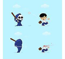 baseball death Photographic Print