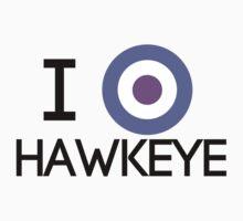 I Heart Hawkeye V2 Kids Clothes
