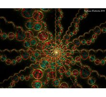 Endless Electric Bubbles Photographic Print
