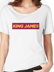 JAMES. Women's Relaxed Fit T-Shirt